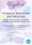 Dyplom dla FWJM